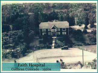 Faith Hospital in the 1920s